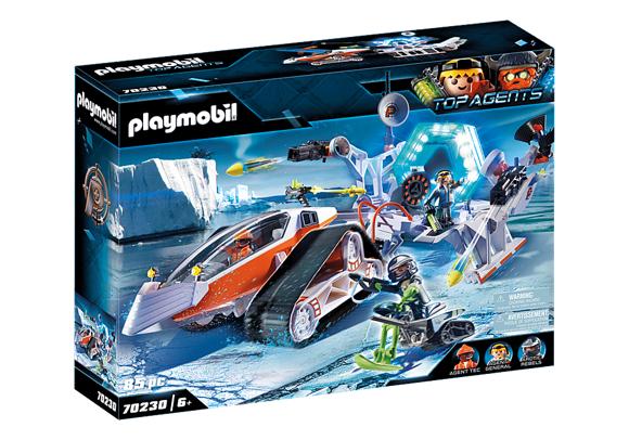 Playmobil - Spy Team Kommandoslæde (70230)
