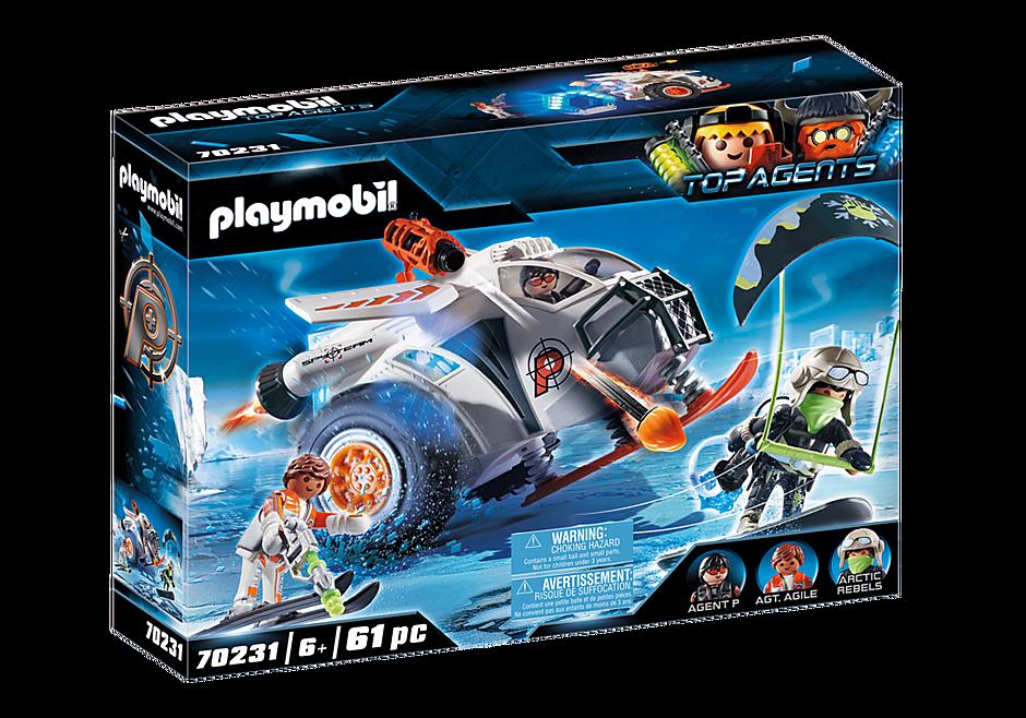 Playmobil - Spy Team Snow Glider (70231)