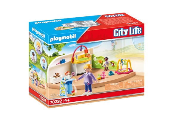 Playmobil - Toddler Room (70282)