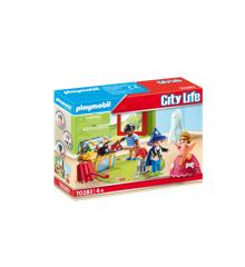 Playmobil - Børn med udklædningskiste (70283)