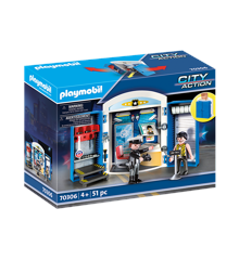 Playmobil - Police Station Play Box (70306)