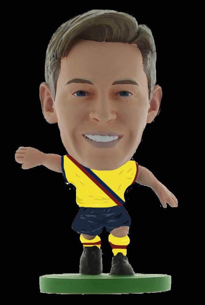 Soccerstarz - Barcelona Frenkie De Jong - AWAY KIT (2020 version)