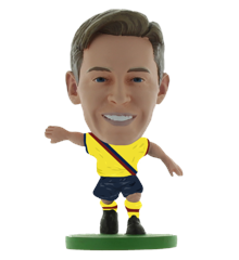 Soccerstarz - Barcelona Frenkie De Jong - AWAY KIT (2020 version)