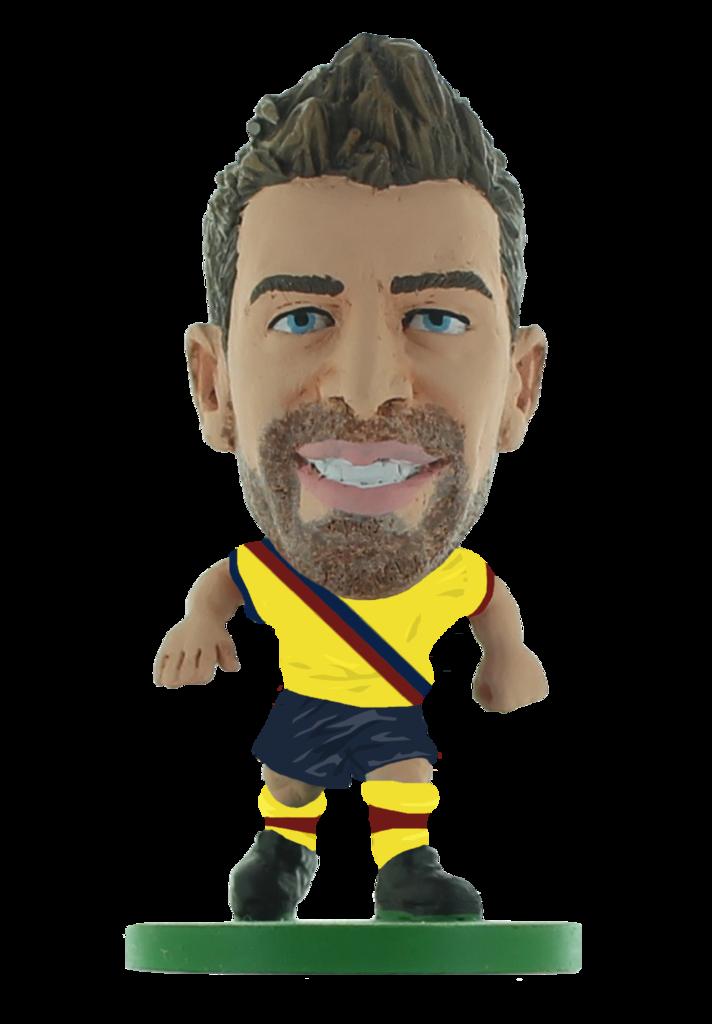 Soccerstarz - Barcelona Gerard Pique - AWAY KIT (2020 version)