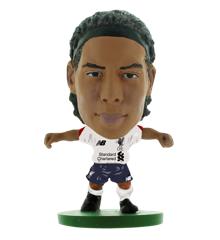 Soccerstarz - Liverpool Virgil Van Dijk Away Kit (2020 version)