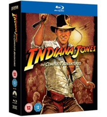 Indiana Jones: The Complete Collection - Blu ray (UK import)