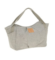 Lässig - Twin Diaper Bag, Bouclé beige