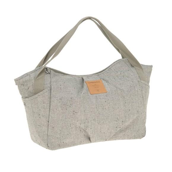 Lässig - Twin Diaper Bag, Bouclé beige