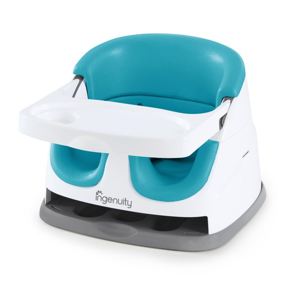 Ingenuity - Baby Base 2-in-1 Booster Seat, Blue