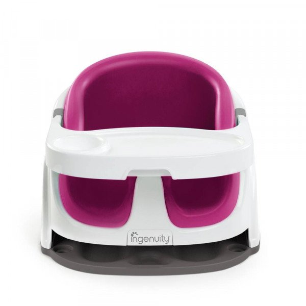 Ingenuity - Baby Base 2-in-1 Booster Seat, Pink