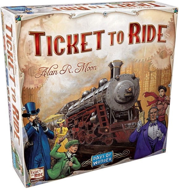 Ticket to Ride - USA (Nordic) (DOW7201S)
