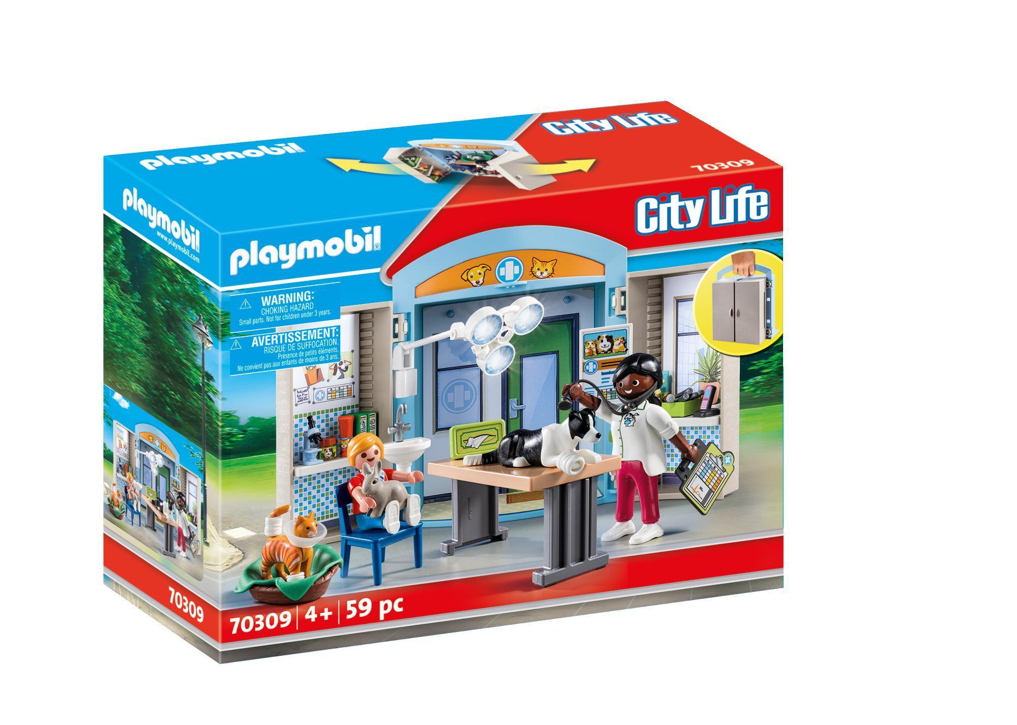 Playmobil - Vet Clinic Play Box (70309)