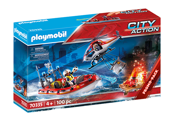 Playmobil - Fire Rescue Mission (70335)