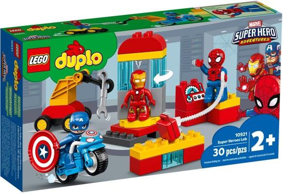 LEGO DUPLO - Super Heroes Lab (10921)