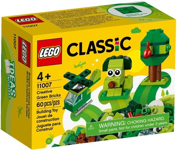 LEGO Classic - CKreative Grønne Klodser (11007)