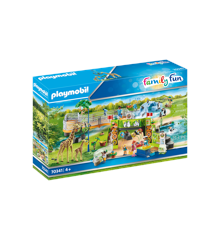 Playmobil - Large City Zoo (70341)