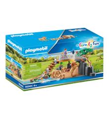 Playmobil - Løver i indhegning (70343)