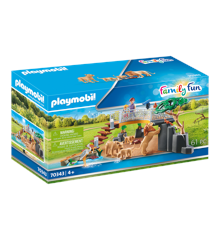Playmobil - Outdoor Lion Enclosure (70343)