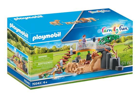 Playmobil - Outdoor Lion Enclosure (70343)