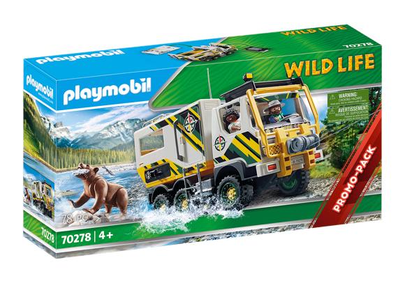 Playmobil - Ekspeditionstruck (70278)
