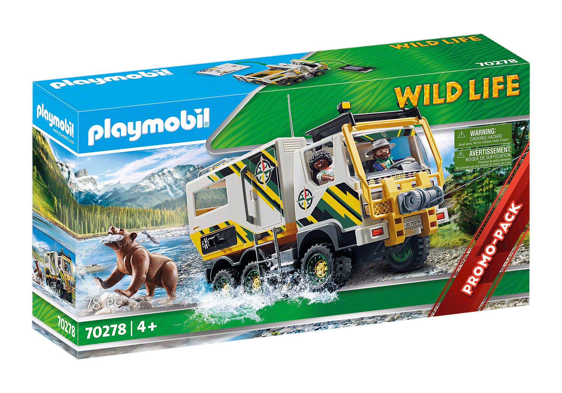 Playmobil - Outdoor Expedition Truck (70278)
