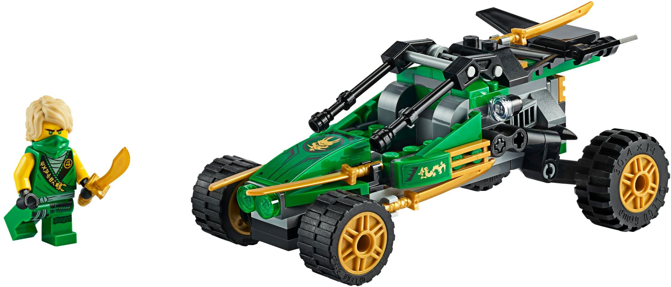 LEGO Ninjago - Jungle Raider (71700)