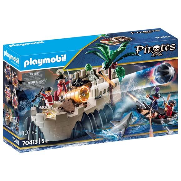 Playmobil - Rødjakkebastion (70413)