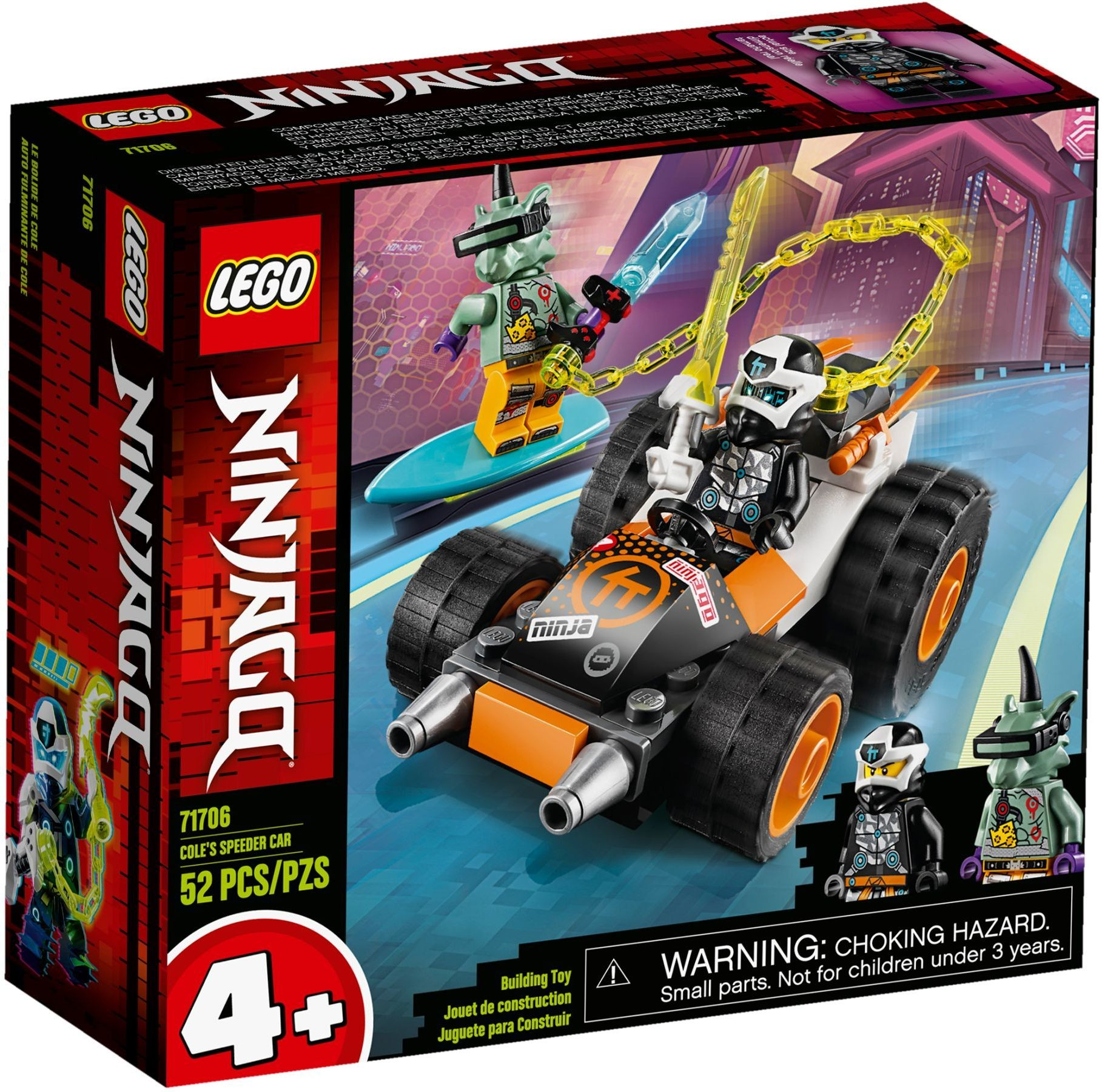 Kaufe LEGO Ninjago - Cole's Speeder Car (71706) - inkl. Versand