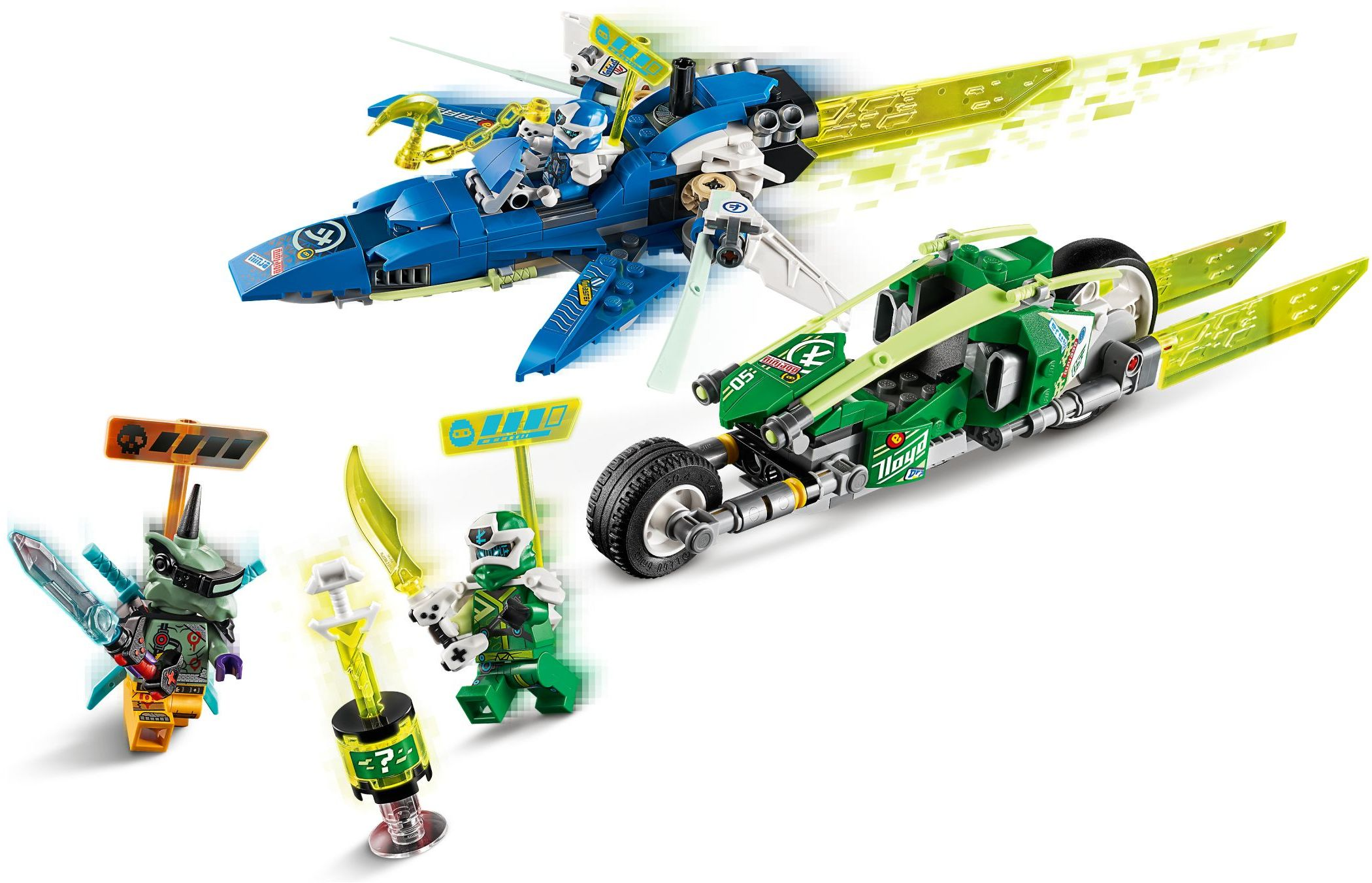 LEGO Ninjago - Jay and Lloyd