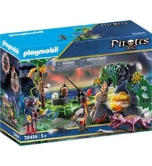 Playmobil - Pirat-skatteskjulested (70414)