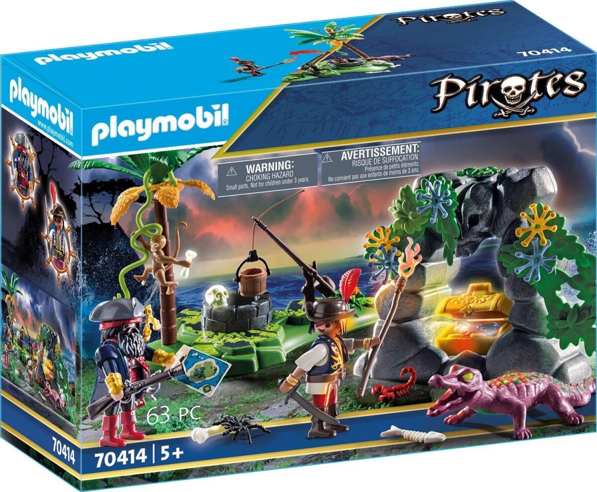 Playmobil - Pirate Hideaway (70414)