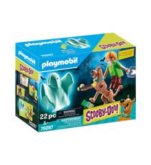 Playmobil - Scooby-Doo - Scooby og Shaggy med spøgelse (70287)