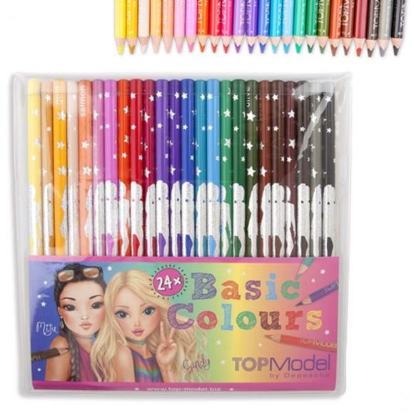 Top Model - Colouring Pencils (046710)