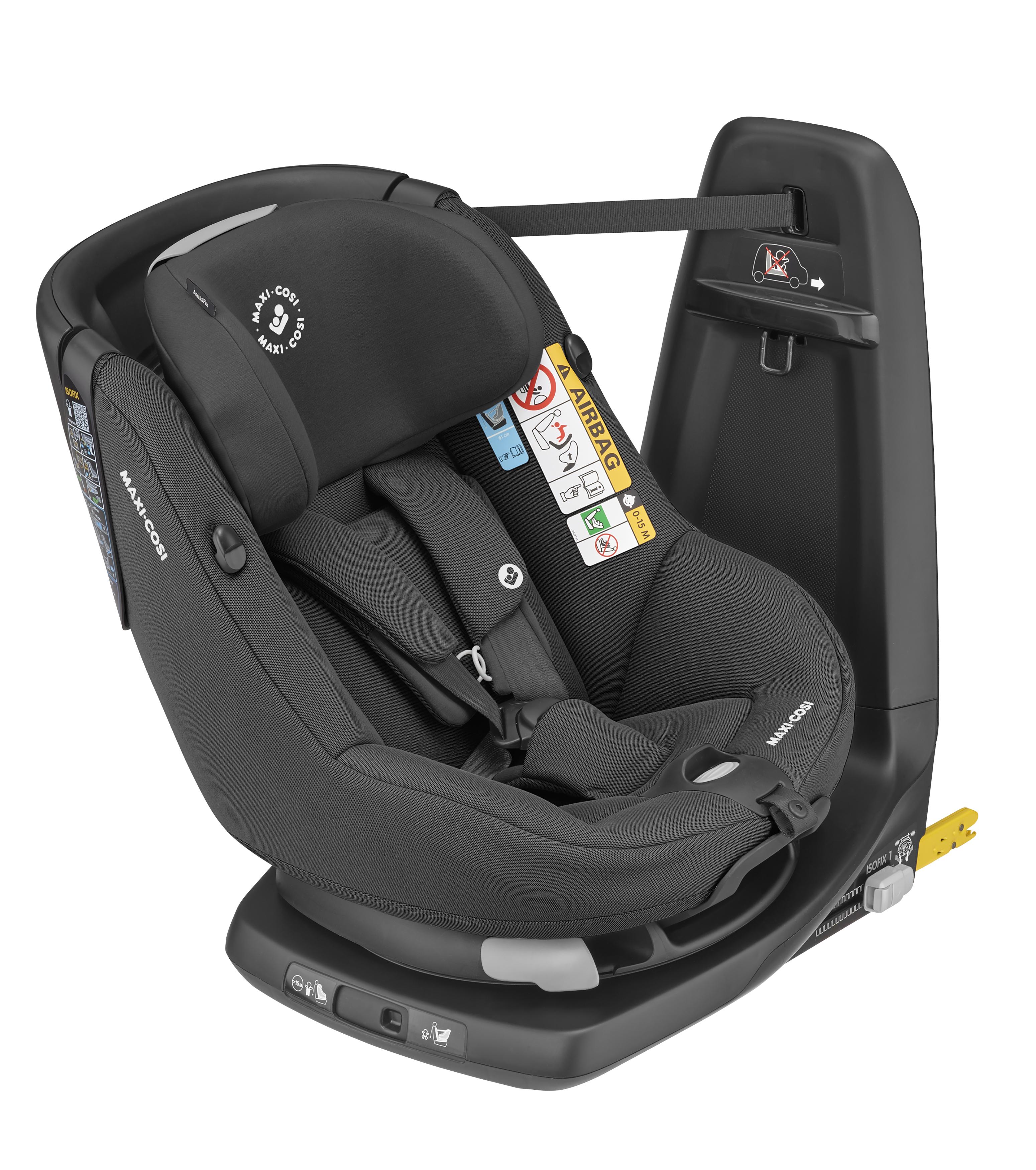 Maxi-Cosi - AxissFix Car seat (61-105 cm) - Authentic Black