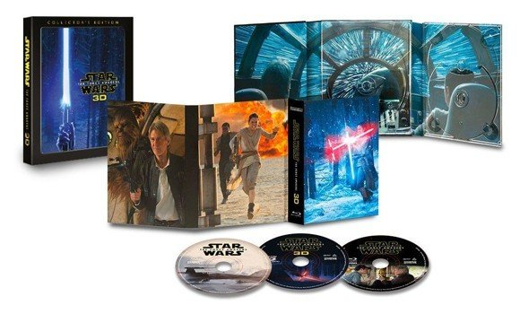 Star Wars: The Force Awakens - Blu ray