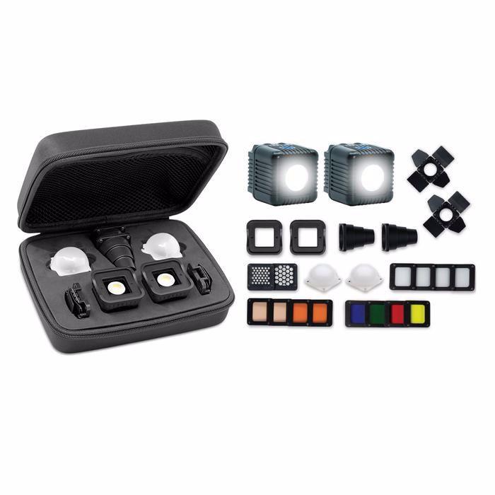 Lume Cube - 2,0 Professional Lighting Kit - Black