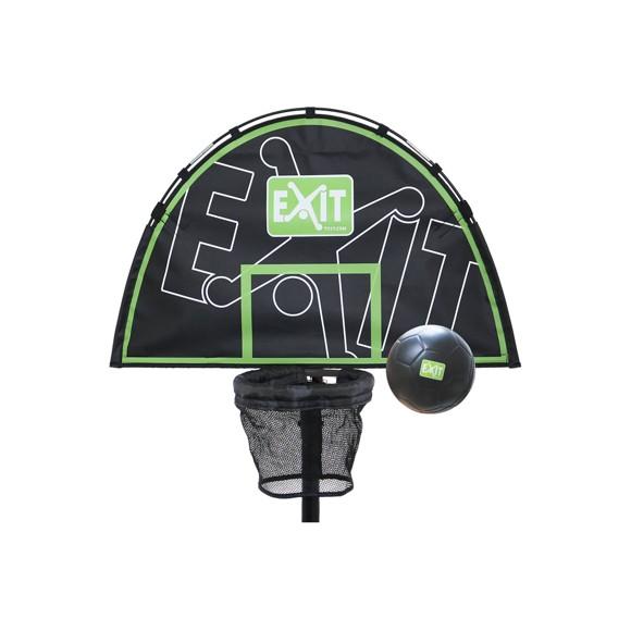 EXIT - Trampoline Basket (ø25-38mm) - Green/Black (11.40.50.50)