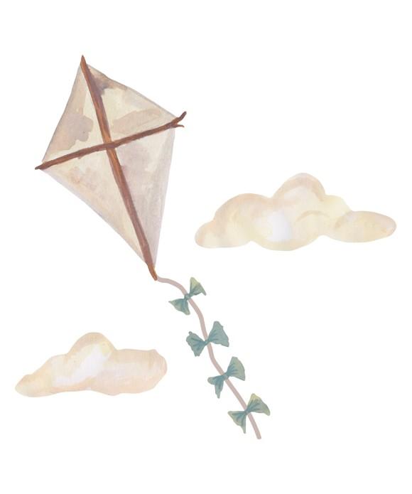That's Mine - Wall Sticker Kite Small - Beige (O8084)