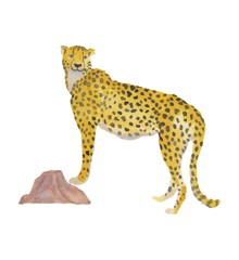 That's Mine - Wall Sticker Cheetah - Yellow (O8073)