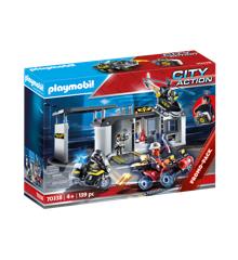 Playmobil - Take Along - Taktisk hovedkvarter(70338)