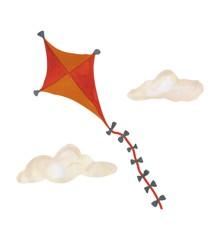 That's Mine - Wall Sticker Kite Large - Orange (O8079)