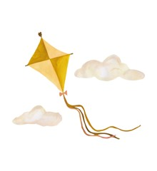 That's Mine - Wall Sticker Kite Large - Ochre (O8077)