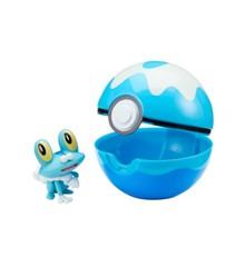 Pokemon - Clip'N Go - Froakie (97639)