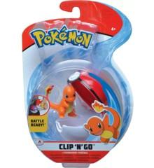 Pokemon - Clip'N Go - Charmander (97644)