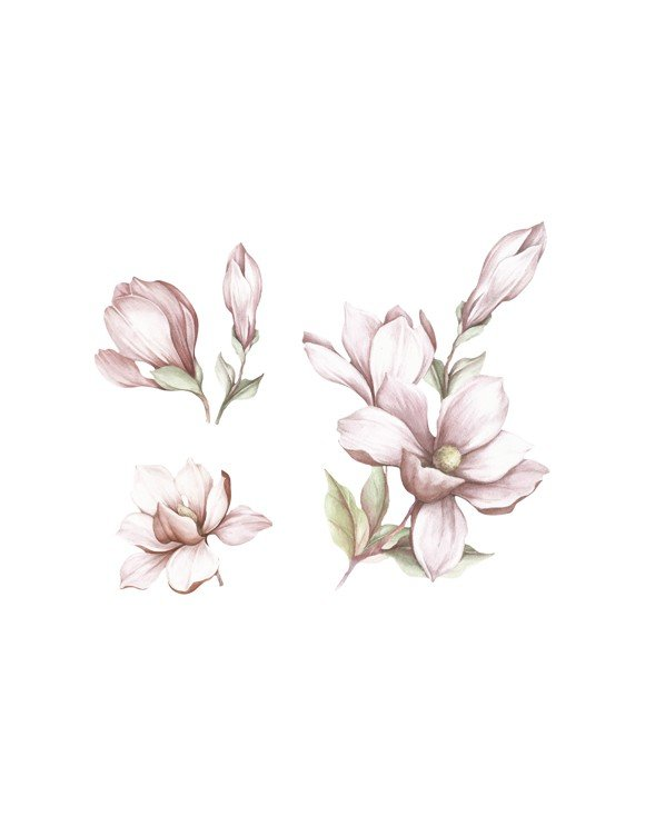 That's Mine - Wall Sticker Magnolia - Rose