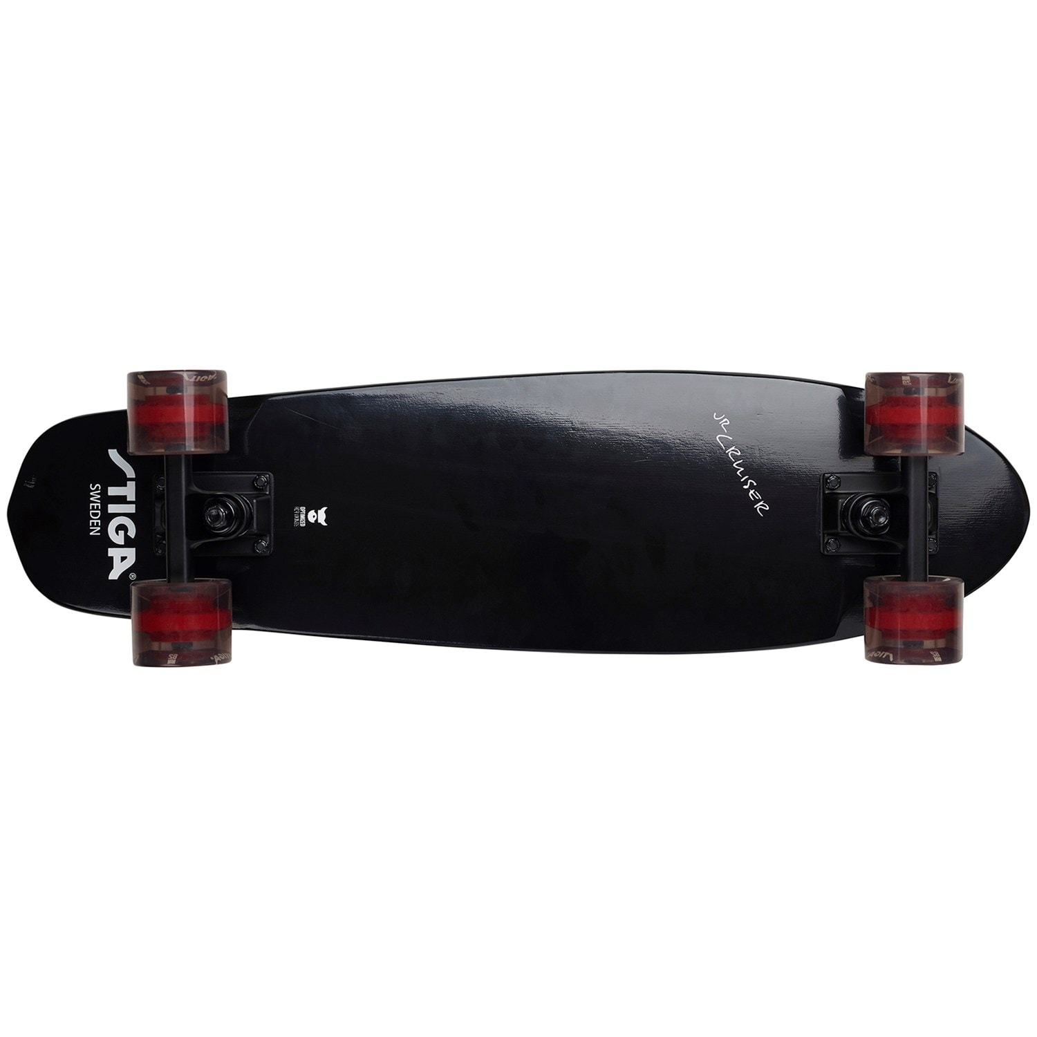 "Stiga - Skateboard JR Cruiser 26"" - Black (80-0727-01)"