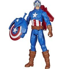 Avengers - Titan Hero - Blast Gear Captain America - 30 cm