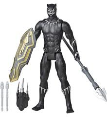Avengers - Titan Hero - Blast Gear Black Panther - 30cm (E7388)