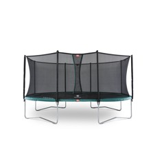 BERG - Grand Favorit Regular 520 Trampolin + Comfort Sikkerhedsnet - Grøn