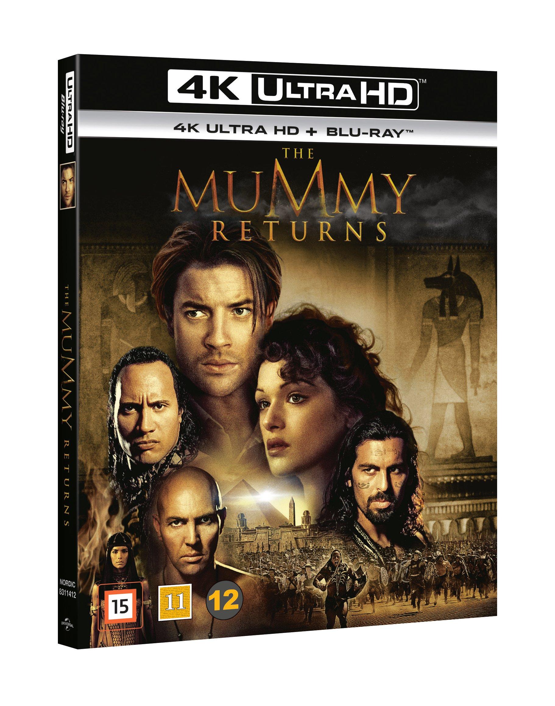Mummy Returns, The (Uhd+Bd)
